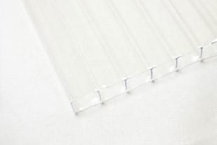 Сотовый поликарбонат IRROX PREMIUM толщина 8 мм, бесцветный
