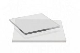 Монолитный поликарбонат Borrex толщина 6 мм, бесцветный