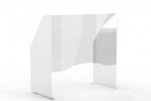 """Экран защитный для маникюрного стола 600*600 мм (с окном 200*600) """"WOW SHIELD"""""""
