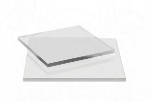 Монолитный поликарбонат Irrox толщина 6 мм, бесцветный