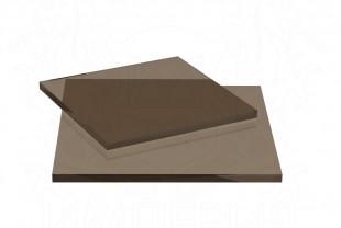 """Монолитный поликарбонат Irrox """"Оптимальный"""" толщина 8 мм, бронза"""