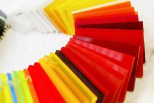 Экструзионное оргстекло PLEXIGLAS, толщина 3 мм, цветное