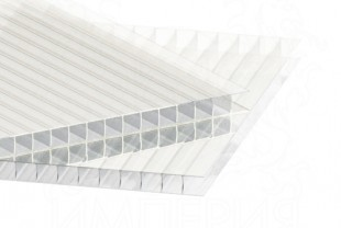 Сотовый поликарбонат IRROX толщина 8 мм, бесцветный