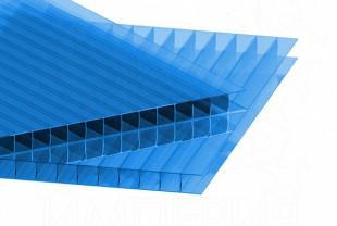 Сотовый поликарбонат IRROX толщина 6 мм, синий
