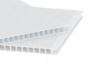 Сотовый поликарбонат IRROX толщина 10 мм, опал